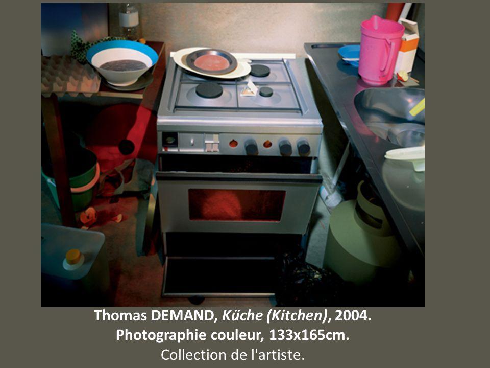 Thomas DEMAND, Küche (Kitchen), 2004. Photographie couleur, 133x165cm. Collection de l'artiste.