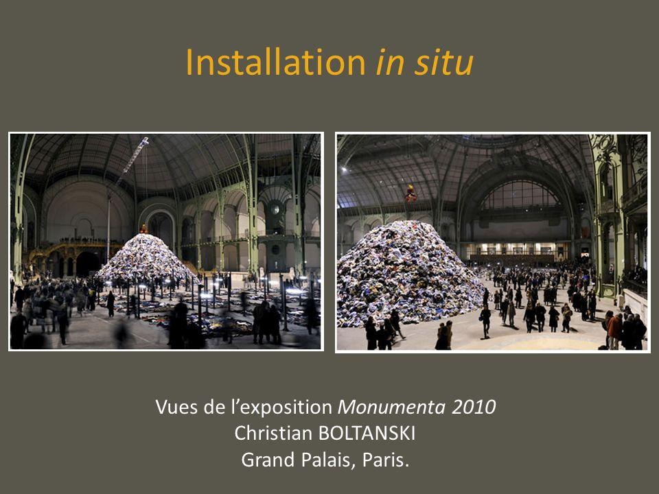Installation in situ Vues de lexposition Monumenta 2010 Christian BOLTANSKI Grand Palais, Paris.