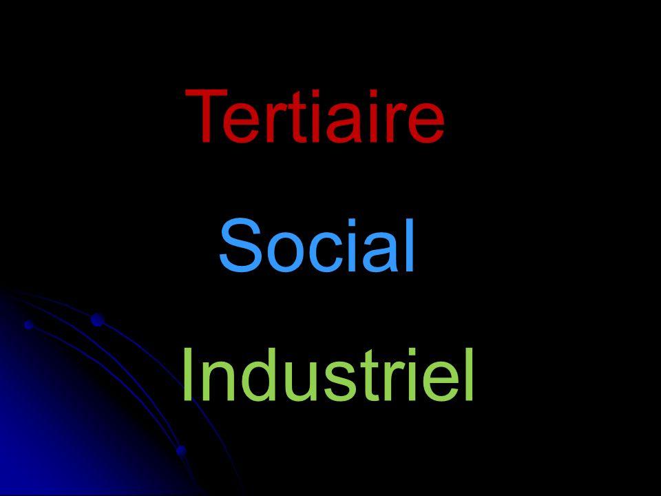 Tertiaire Social Industriel
