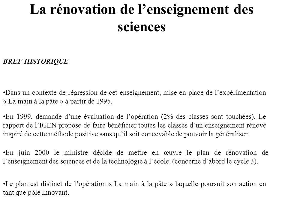 Enseigner les Sciences et la technologie à lécole primaire. Stage départemental Du 19 avril au 7 mai 2004
