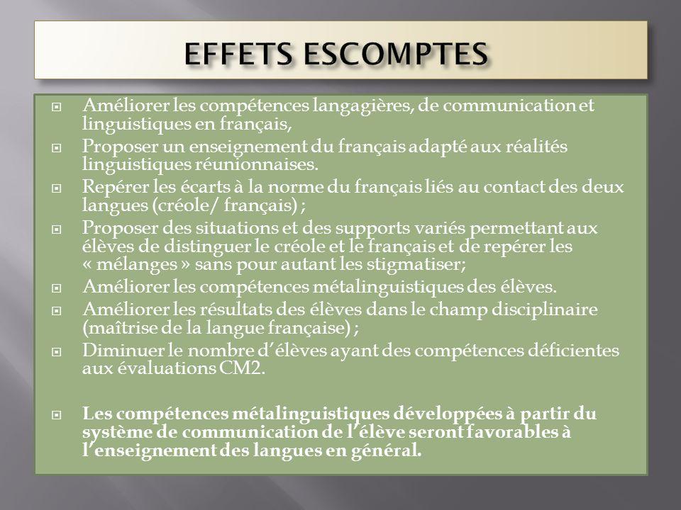 Améliorer les compétences langagières, de communication et linguistiques en français, Proposer un enseignement du français adapté aux réalités linguis