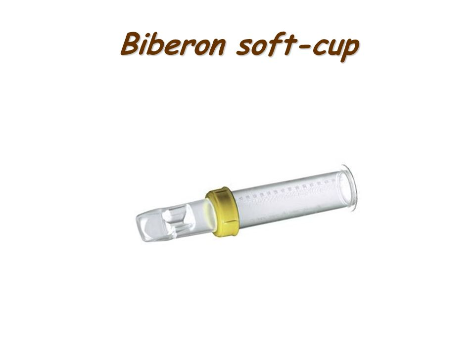 Biberon soft-cup