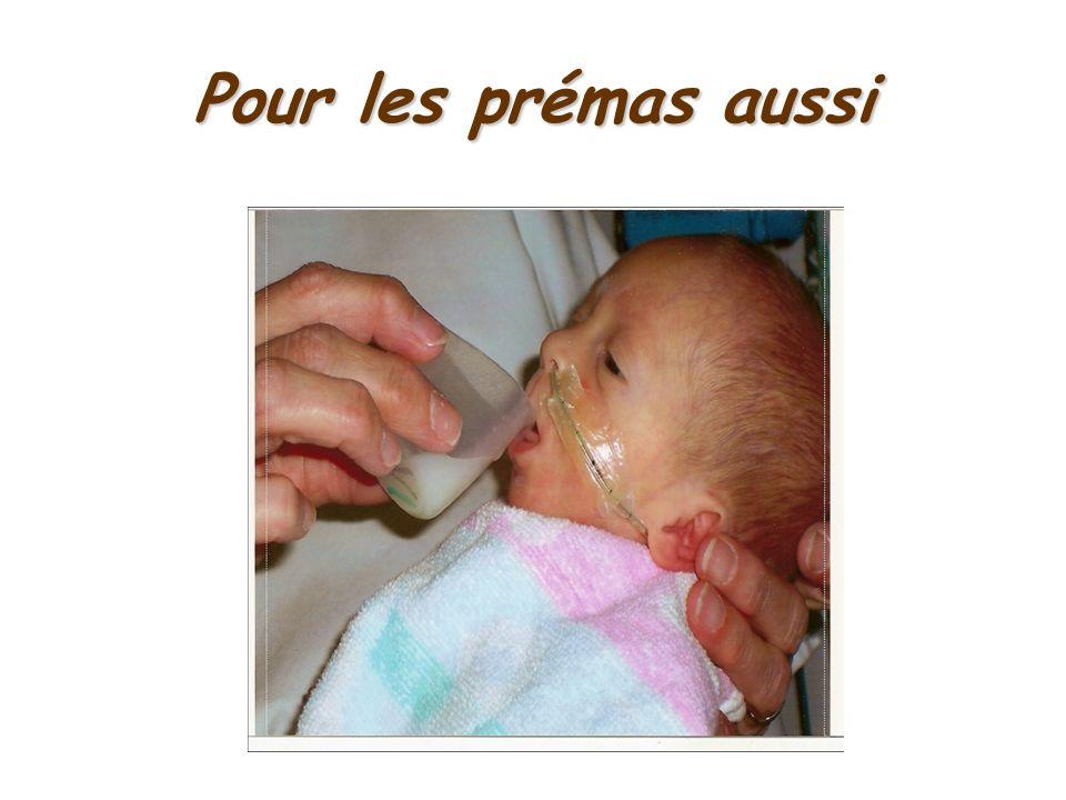 Points forts : Lorsque le doigt est correctement placé, le bébé fait de la succion et muscle ses joues Répond au besoin de succion