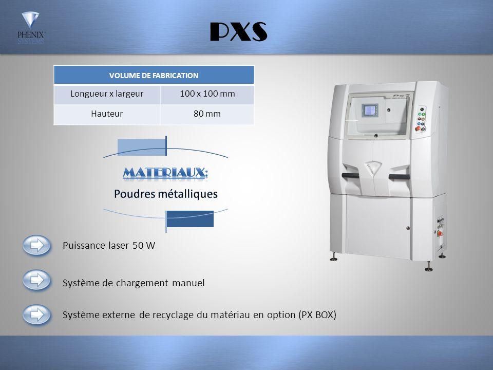 PM250 VOLUME DE FABRICATION CYLINDRIQUE Diamètre250 mm Hauteur300 mm Puissance laser 200 W