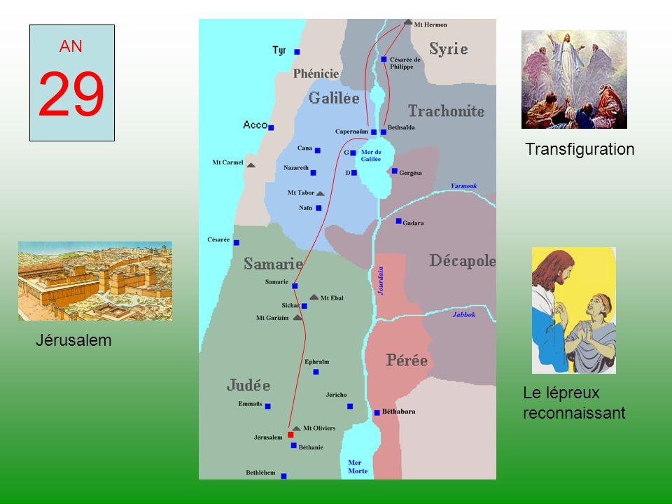 AN 29 Transfiguration Jérusalem Le lépreux reconnaissant