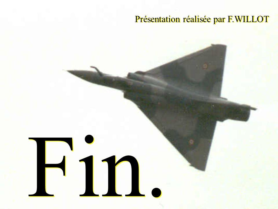Fin. Présentation réalisée par F.WILLOT