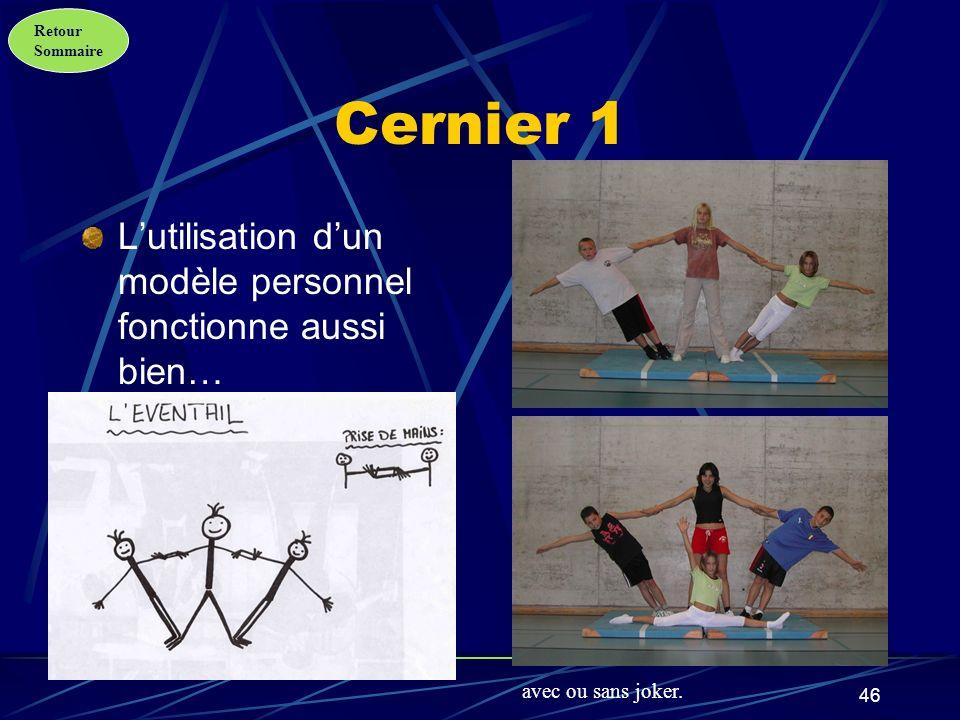 Retour Sommaire 47 Cernier 2 Toujours plus fort… avec une position originale du joker.