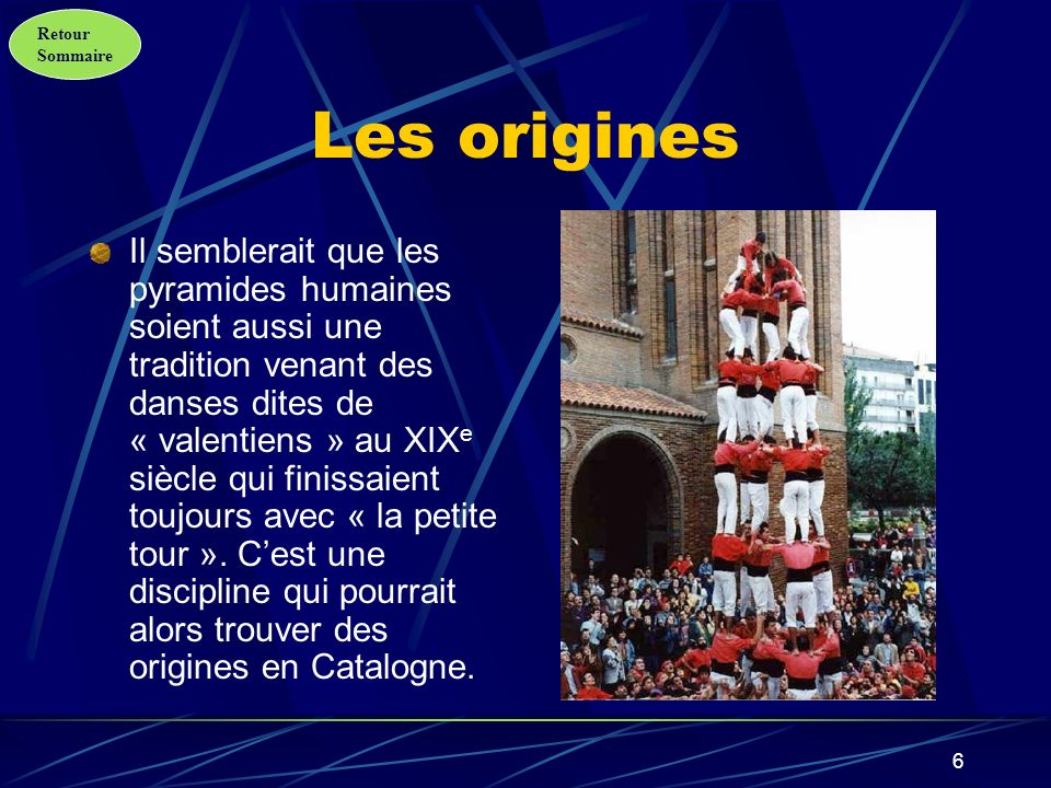 Retour Sommaire 7 Les applications sportives Jusquà la fin des années 90 la fédération internationale des sports acrobatiques, celle de trampoline et celle de gymnastique étaient séparées.