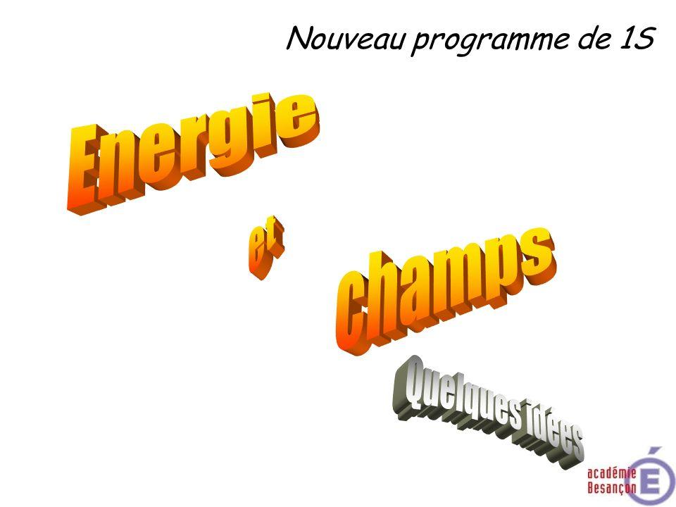 Les champs Notions et contenusCompétences attendues Exemples de champs scalaires et vectoriels : pression, température, vitesse dans un fluide.