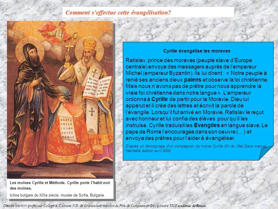 Claude Martin – professeur Collège A. Calmette N.D. de Gravenchon, membre du Pôle de Compétences Disciplinaire TICE académie de Rouen Cyrille évangéli