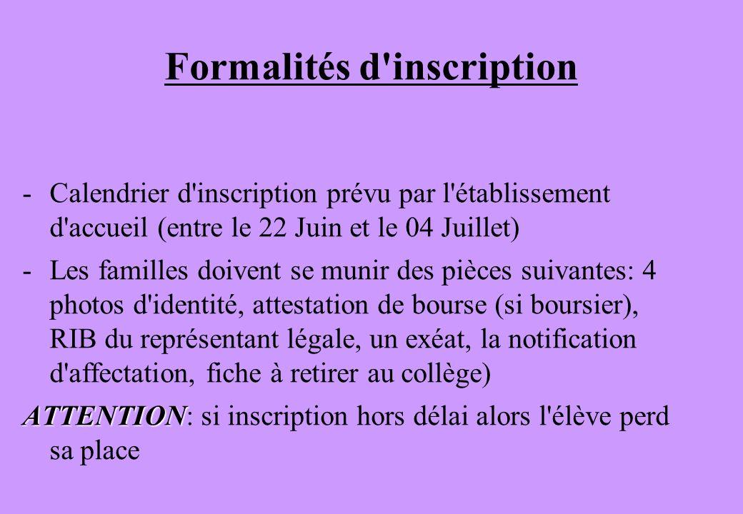 AUTRE CAS POSSIBLE PAR DÉROGATION 1h30 au choix & 2x1h30 hebdomadaire