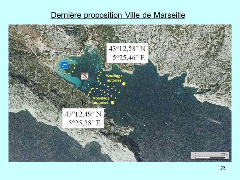 23 Dernière proposition Ville de Marseille
