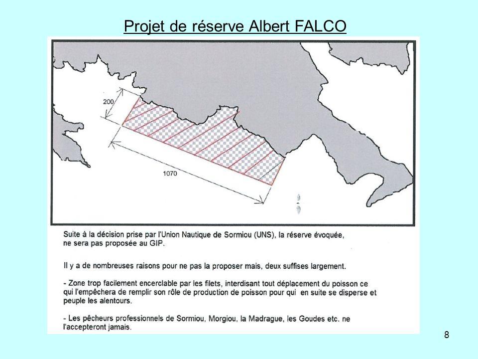 8 Projet de réserve Albert FALCO