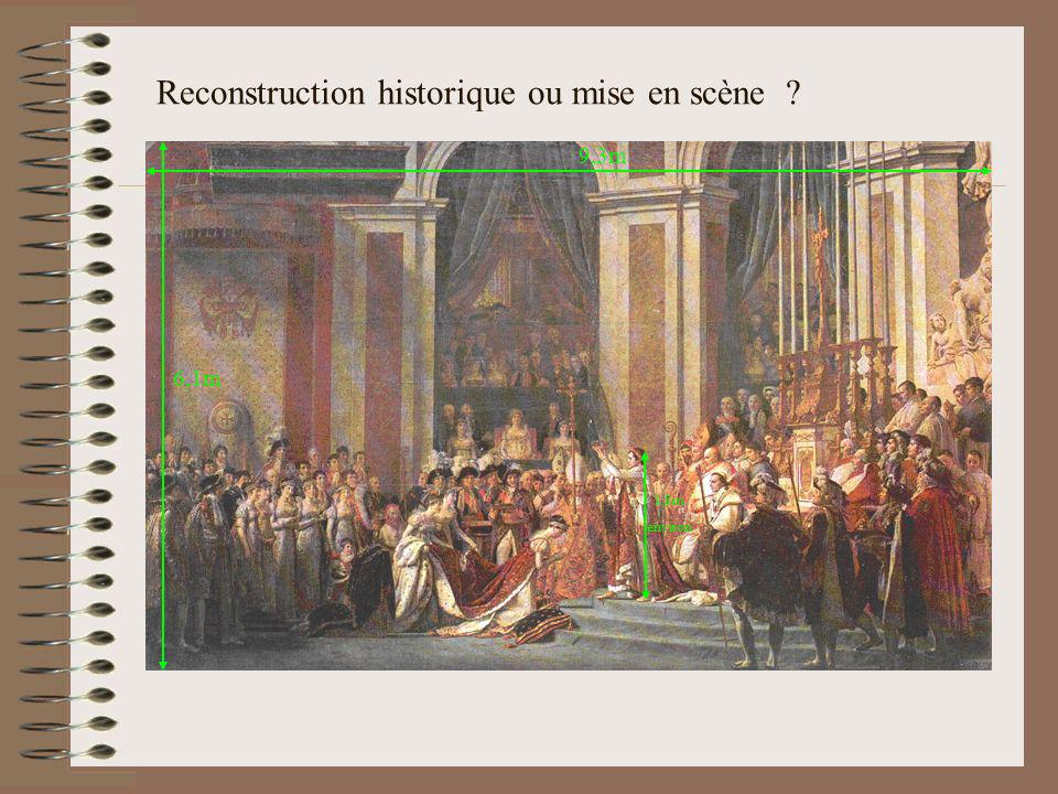 Reconstruction historique ou mise en scène ? 6,1m 9,3m 1,8m environ