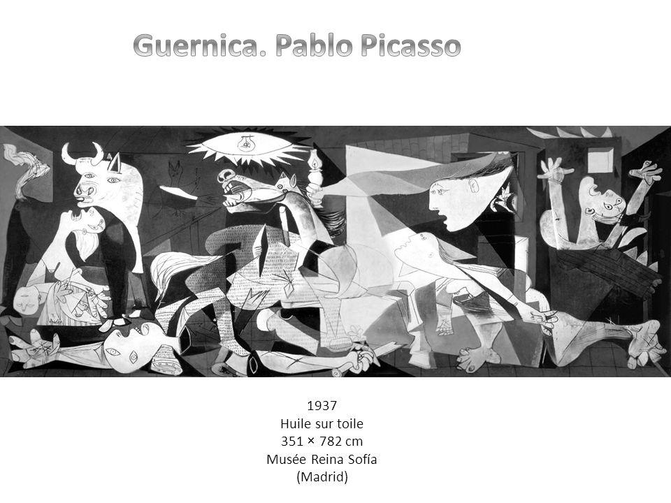 1937 Huile sur toile 351 × 782 cm Musée Reina Sofía (Madrid)