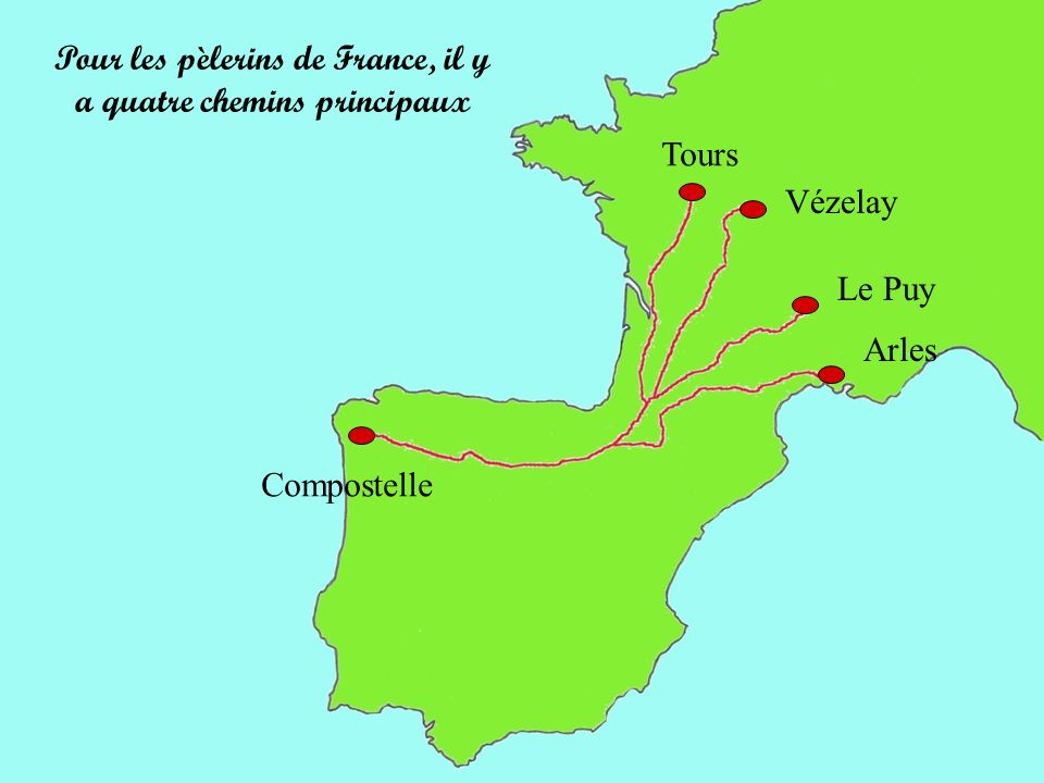 La via Turonensis est aujourd hui la voie historique vers Compostelle la moins fréquentée.
