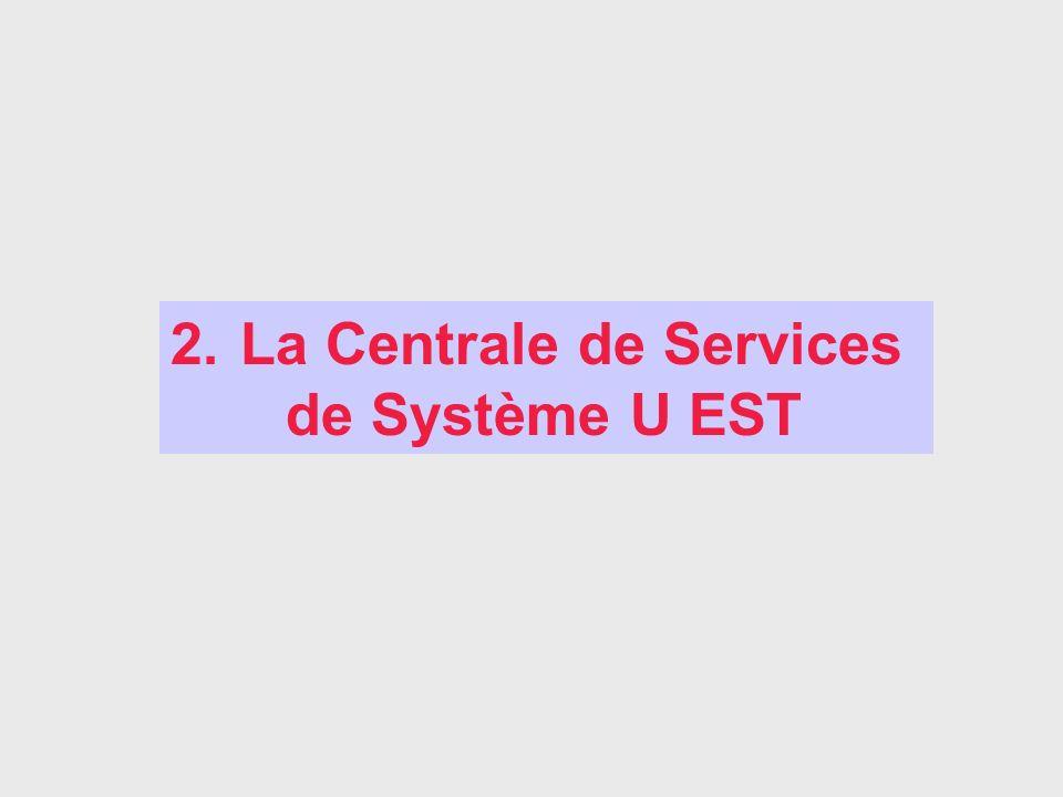 2. La Centrale de Services de Système U EST