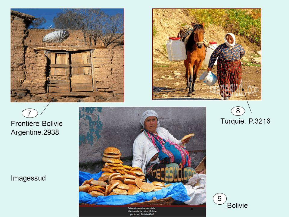 Imagessud Bolivie Frontière Bolivie Argentine.2938 Turquie. P.3216 7 8 9