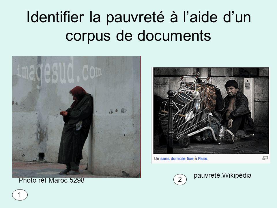 Identifier la pauvreté à laide dun corpus de documents Photo réf Maroc 5298 pauvreté.Wikipédia 1 2