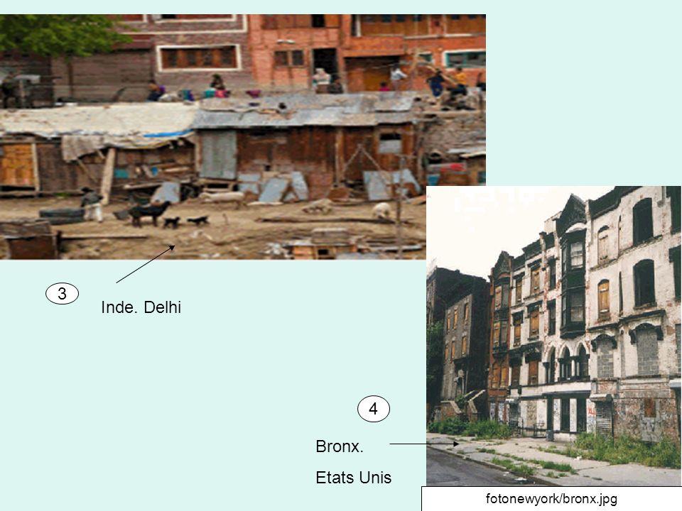 A léchelle de chaque continent (monde urbain-monde rural) On trouve des inégalités face à la pauvreté : si lon oppose la vie à la ville où à la campagne Part de la population urbaine ayant accès à un système dassainissement en % en 2006.