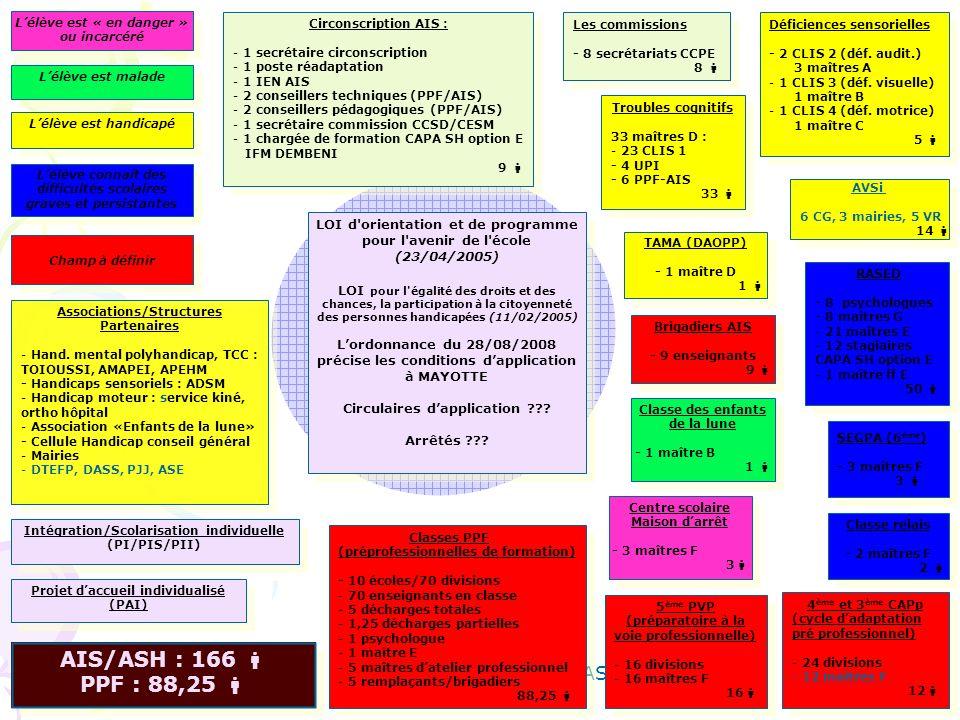 Th. DENOYELLE IEN AIS/ASH RASED - 8 psychologues - 8 maîtres G - 21 maîtres E - 12 stagiaires CAPA SH option E - 1 maître ff E 50 RASED - 8 psychologu