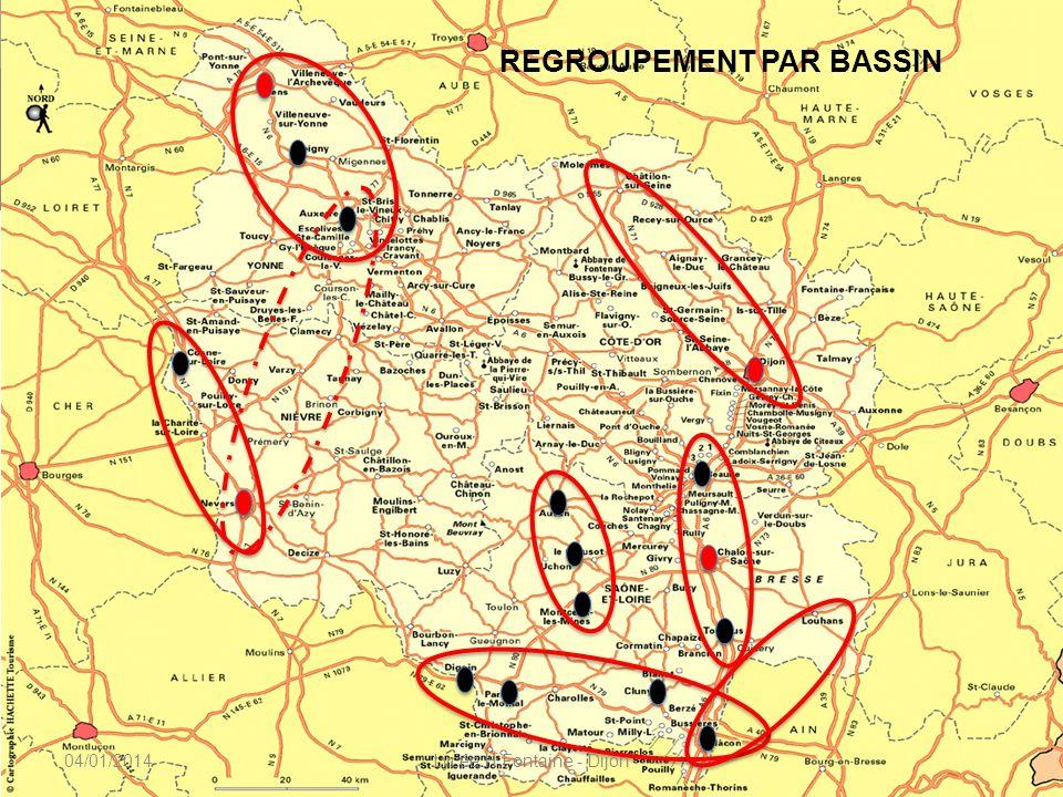 Formation des enseignants CNAM, 22 & 23 novembre 2010 REGROUPEMENT PAR BASSIN 04/01/2014Lycée H Fontaine - Dijon