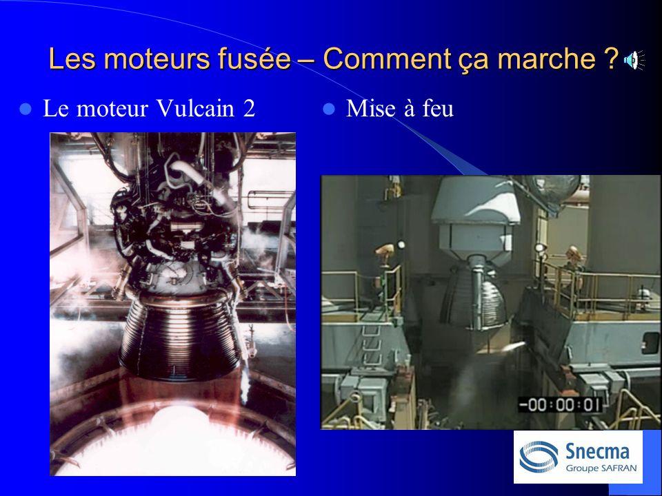 Le moteur Vulcain 2 Mise à feu