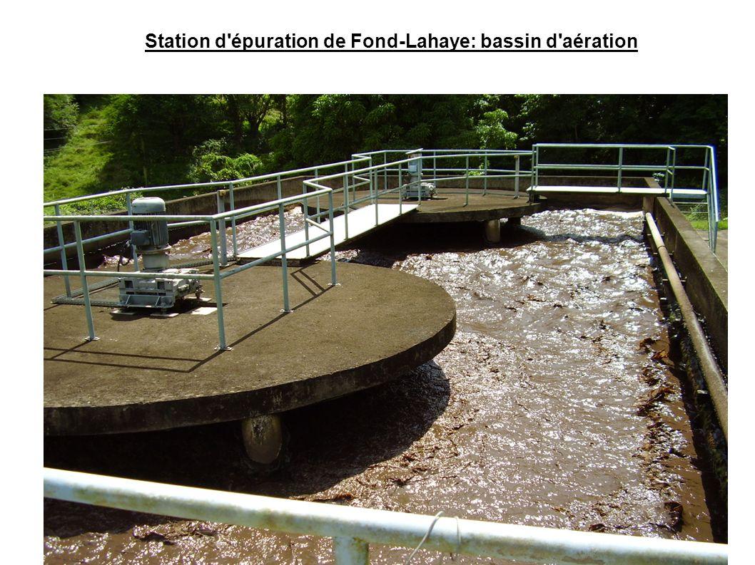 Station d'épuration de Fond-Lahaye: bassin d'aération