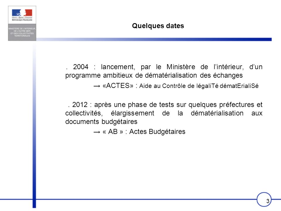 14 Application «Actes Budgétaires» («AB»)