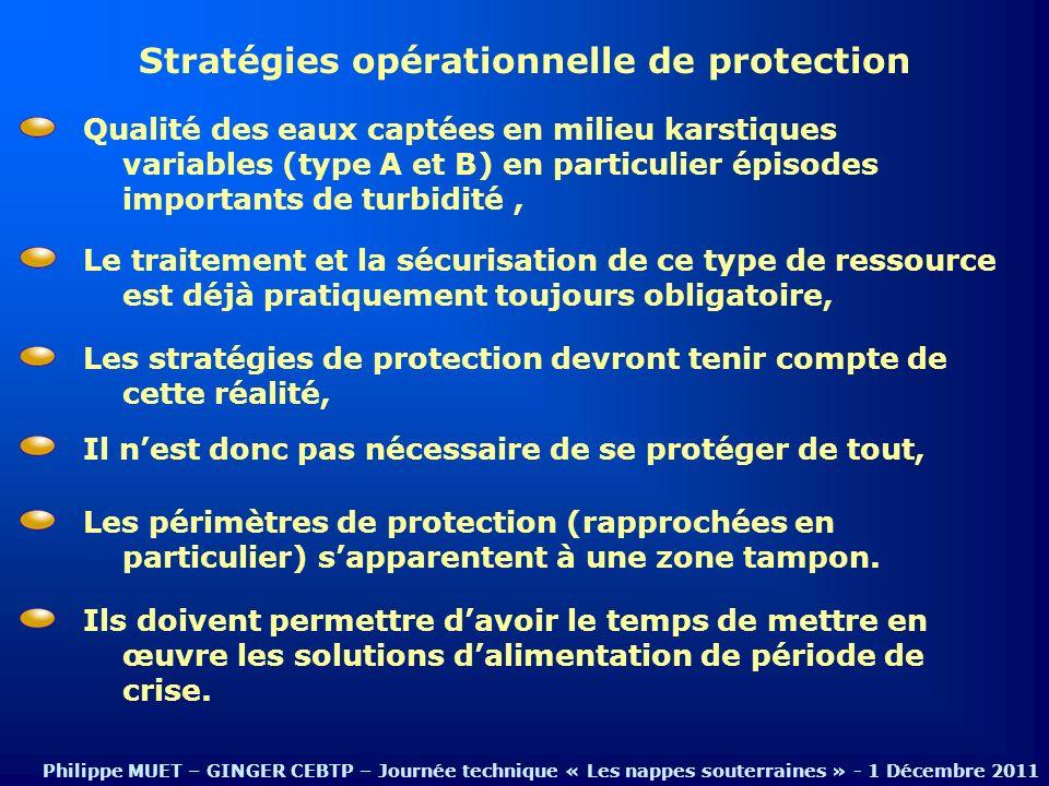 Stratégies opérationnelle de protection Le traitement et la sécurisation de ce type de ressource est déjà pratiquement toujours obligatoire, Qualité d