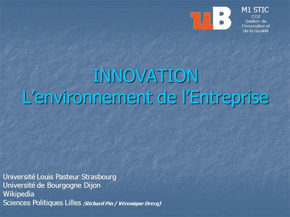 L environnement de l entreprise Introduction Organisations et Entreprises Premi è re partie Les composantes de l environnement et leur impact pour l entreprise Deuxi è me partie L adaptation de l entreprise à son environnement