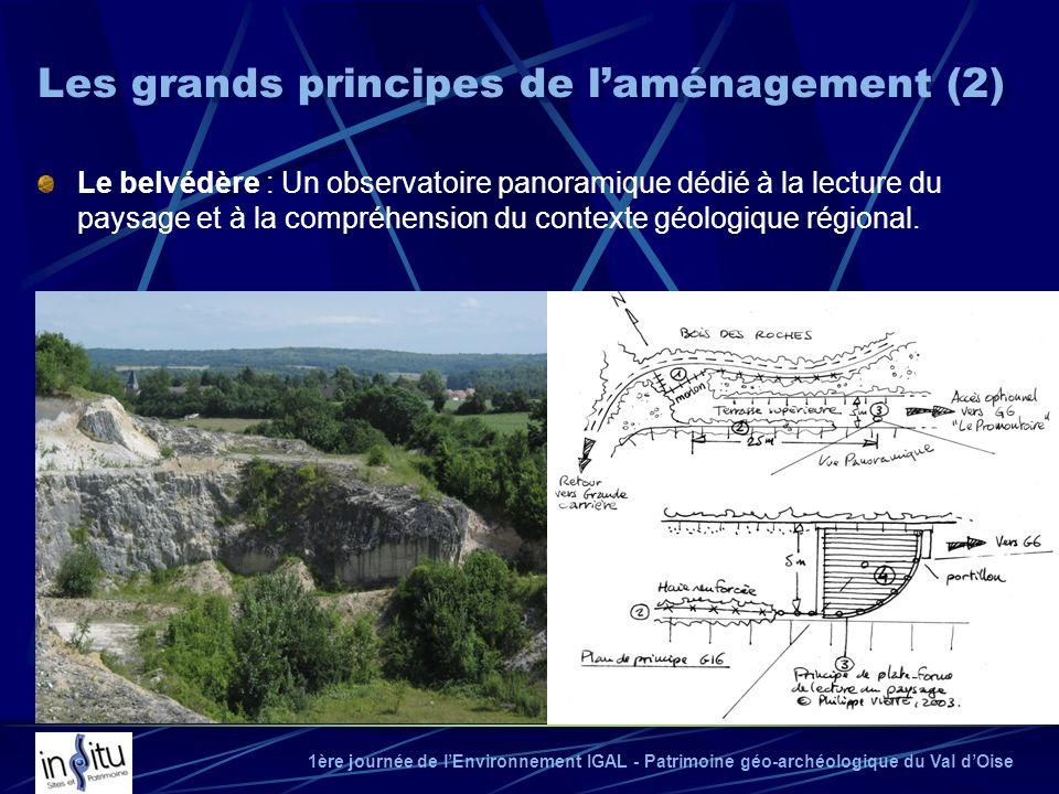 1ère journée de lEnvironnement IGAL - Patrimoine géo-archéologique du Val dOise Le belvédère : Un observatoire panoramique dédié à la lecture du paysa