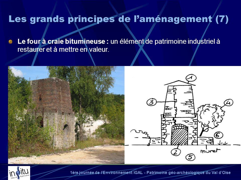 1ère journée de lEnvironnement IGAL - Patrimoine géo-archéologique du Val dOise Le four à craie bitumineuse : un élément de patrimoine industriel à re