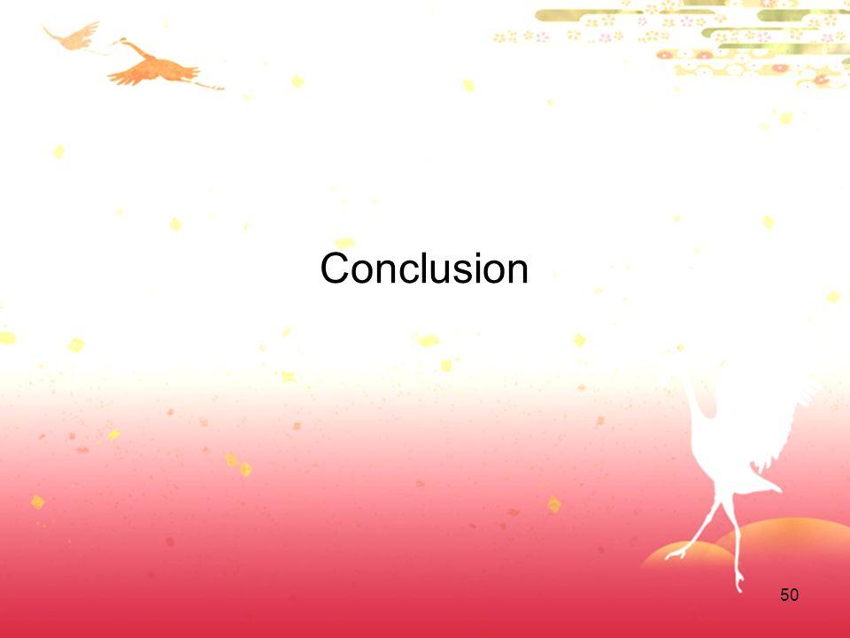 50 Conclusion