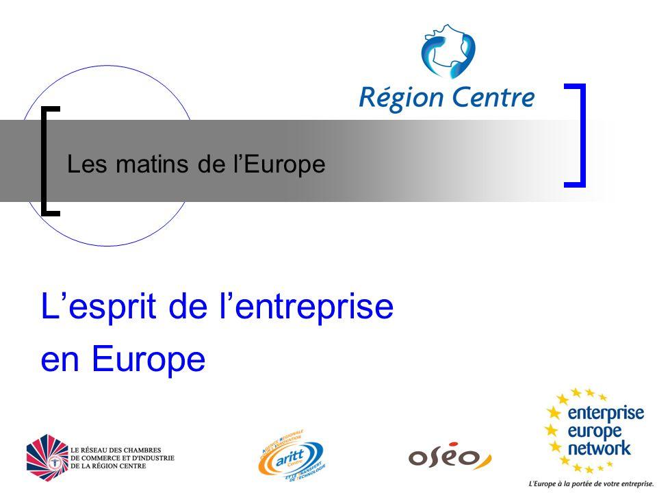 Partenariats européens 1/2 Objectifs: valoriser des brevets et/ou savoir-faire, rechercher des fournisseurs spécifiques, accéder à de nouveaux marchés, diversifier sa gamme produits, améliorer ses produits ou procédés Service de recherche de partenaires européens Audit pour évaluer le besoin de la PME ou du laboratoire Veille pour détecter des opportunités européennes Publication annonces pour promouvoir les offres ou les demandes régionales