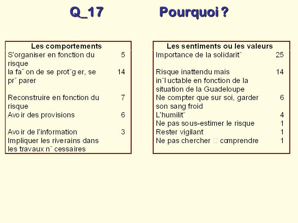 Q_17 Pourquoi ?