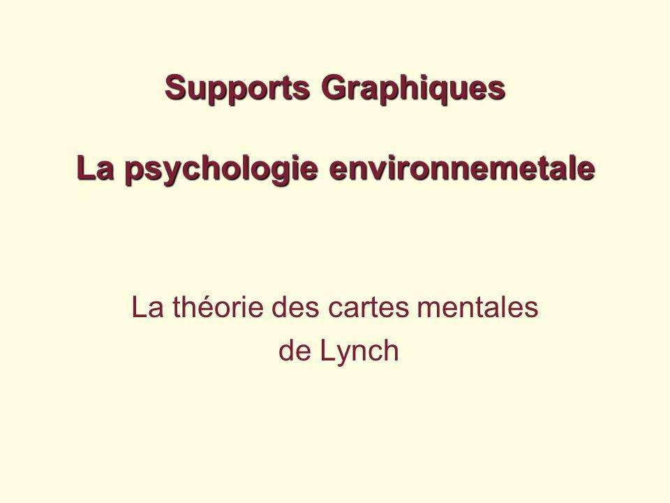 Supports Graphiques La psychologie environnemetale La théorie des cartes mentales de Lynch