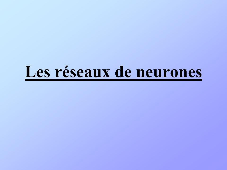 Historique (1) 3 1940 : Alan TURING : Machine de Turing 1943 : Warren McCULLOCH & Walter PITTS (neurobiologistes US) : Modèle de neurone.