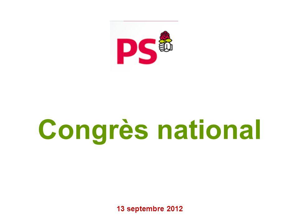 Congrès national 13 septembre 2012