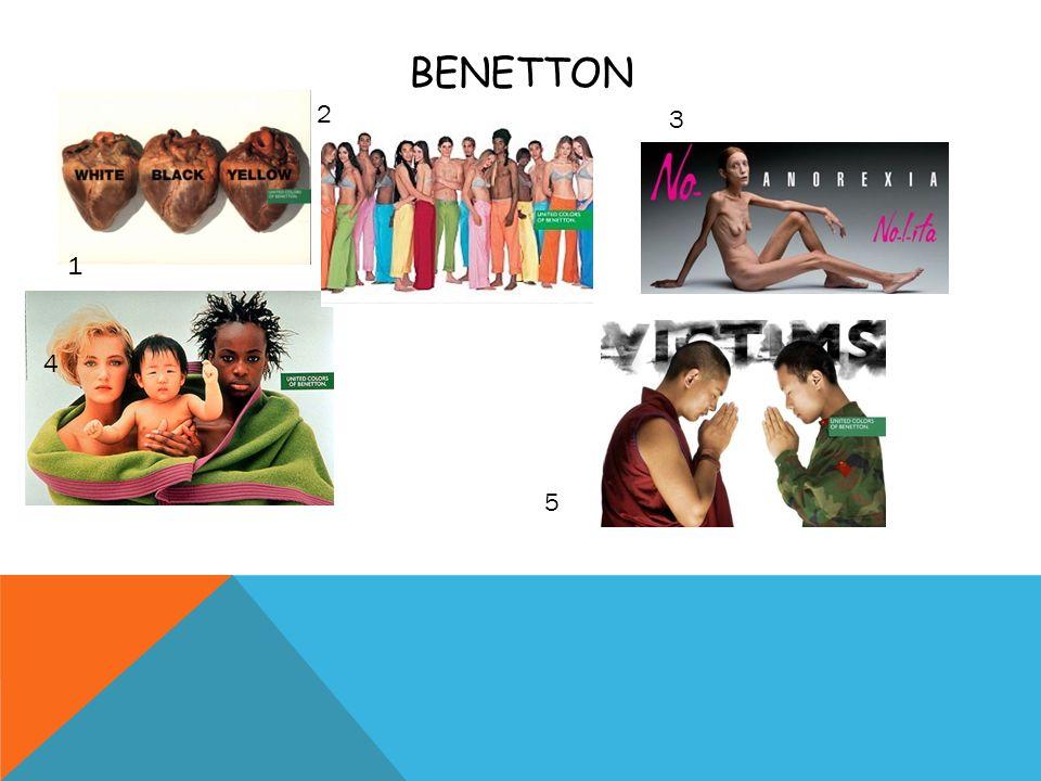 BENETTON 2 3 1 4 5
