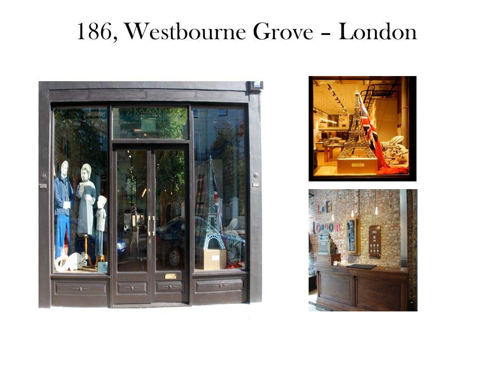 186, Westbourne Grove – London