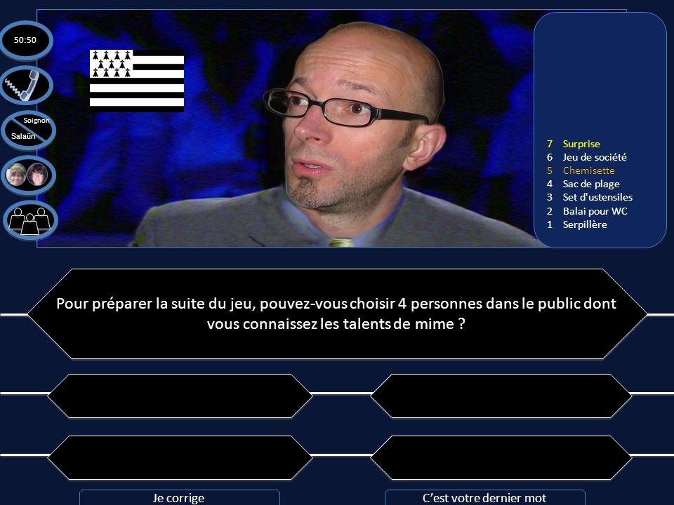 Question n°7: Pouvez-vous traduire cette phrase de breton en français: kalz a vloavezhioù all ! Question n°7: Pouvez-vous traduire cette phrase de bre