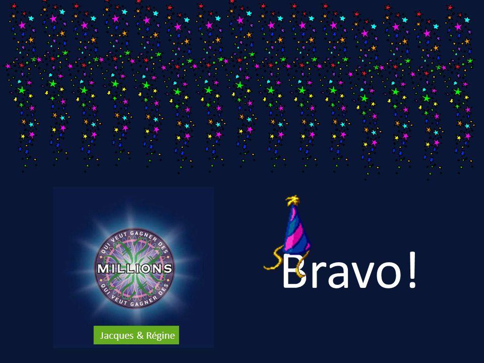 Bravo! Jacques & Régine