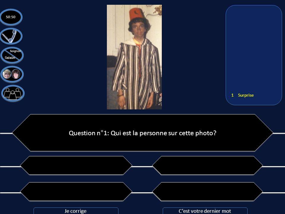 Question n°1: Qui est la personne sur cette photo? A: Un djeuns en tenue traditionnelle de tecktonikeur A: Un djeuns en tenue traditionnelle de teckto