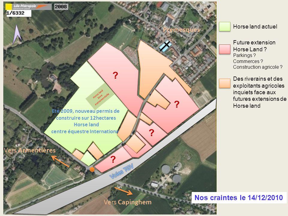Centre Equestre sur 8 hectares Premier permis de construire 2000-2009 Centre Equestre sur 8 hectares Premier permis de construire 2000-2009 ? ? Eté 20