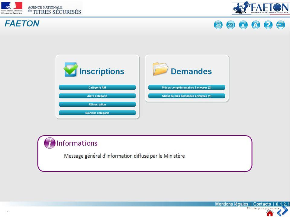 Points dattention o Bouton Recommencer : Cliquer sur ce bouton pour recommencer la numérisation du document courant.