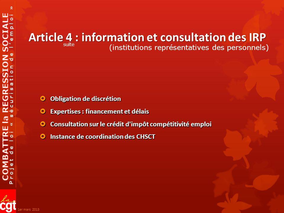 Projet de loi « sécurisation de lemploi » Article 15 : dispositions relatives aux Critères de licenciement Critères de licenciement Le congé de reclassement est porté de 9 à 12 mois Le congé de reclassement est porté de 9 à 12 mois licenciements économiques 1er mars 2013