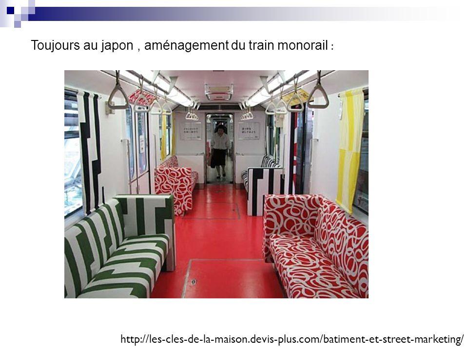 Toujours au japon, aménagement du train monorail : http://les-cles-de-la-maison.devis-plus.com/batiment-et-street-marketing/