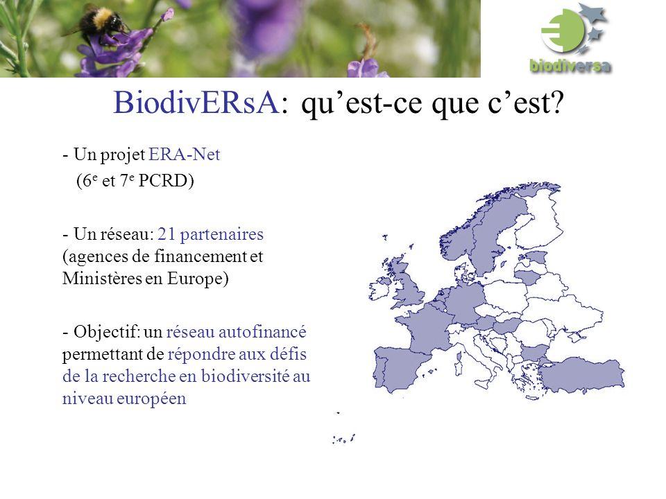 BiodivERsA: quest-ce que cest.