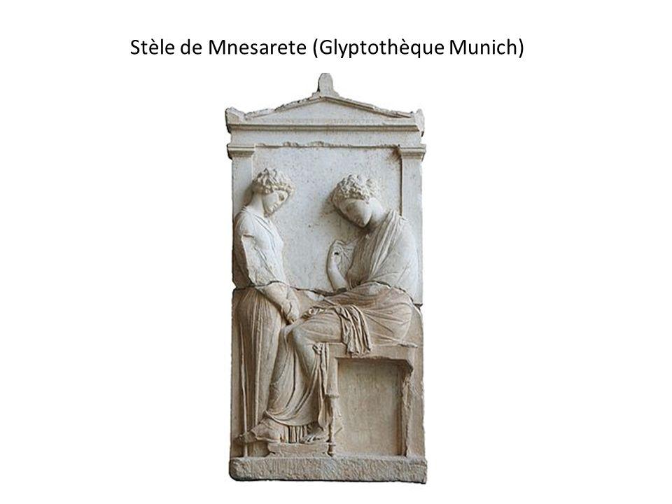 Stèle de Mnesarete (Glyptothèque Munich)